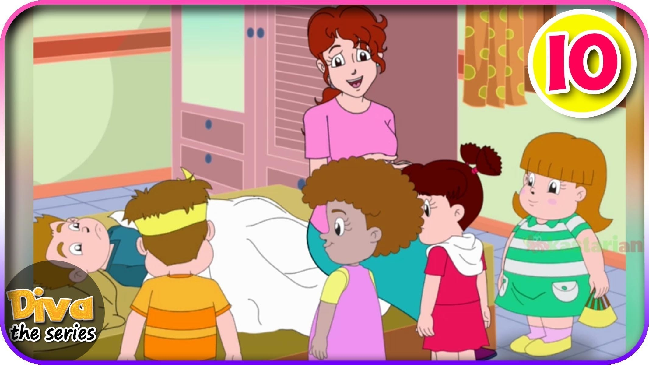 970+ Gambar Kartun Anak Menjenguk Teman Yang Sakit Gratis Terbaru