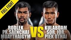 Rodlek vs. Kulabdam | ONE Championship Full Fight
