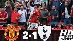 Manchester United vs Tottenham Hotspur 2-1 FA Cup