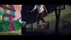 Bermain skate dengan cara yang berbeda!!!