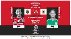 Bali United VS PS Sleman | Bali Virtual Island Cup 2020 (Episode 7)