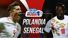 Goll Full Time Polandia VS Senegal 1 - 2 Di Piala Dunia 2018