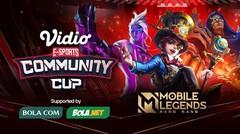 Vidio Community Cup | Mobile Legends Series 2 - FINAL DAY - 25 Februari 2021