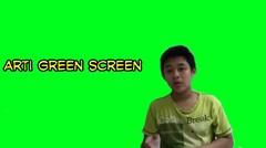 Arti Green Screen....