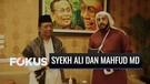 Syekh Ali Jaber Bertemu Mahfud MD Bahas Dakwah Islam