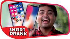 WOW!!! iPhone X Sudah Masuk Indonesia (Short Prank)
