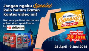 Momen Spesial Bersama Federal Oil