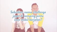 Ringgo Agus Rahman & Zara 'JKT 48' Main Generation Gap Challenge