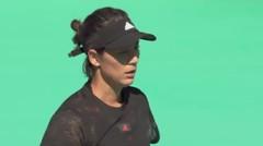 Match Highlight   Maria Sakkari 2 vs 0 Garbine Muguruza   WTA Abu Dhabi Open 2021