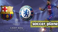 Barcelona v Chelsea 3-0, Perdelapan Final Liga Champions 2017 2018 Leg 2