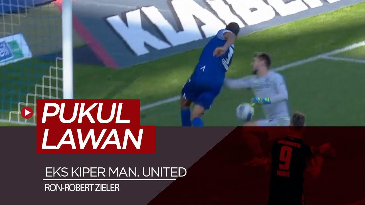 Eks Kiper Manchester United Pukul Lawan Yang Bobol Gawangnya