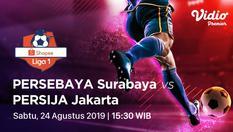 Indosiar - Persebaya Surabaya vs Persija Jakarta - Shopee Liga 1