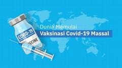 Dunia memulai vaksinasi Covid-19 massal