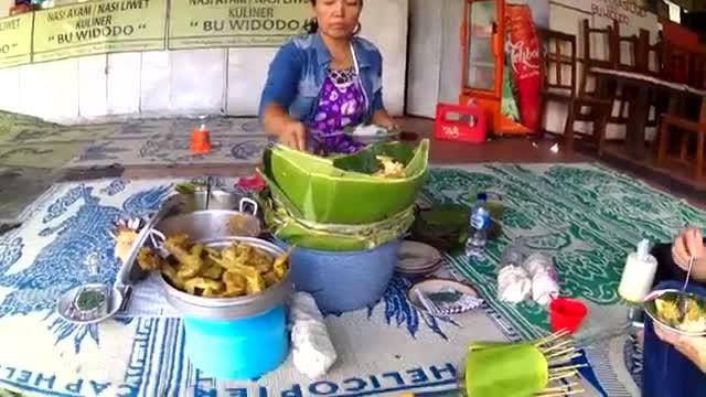 Nasi Ayam Nasi Liwet Simpang Lima Semarang Wisata Kuliner Tradisional Jawa Tengah