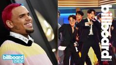 Tato Wajah Chris Brown, BTS Mengambil alih 'Tonight Show' & Lainnya |Billboard News