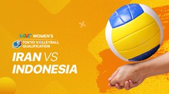 Full Match | Indonesia vs Iran | AVC Women's 2020 Volleyball Qualification