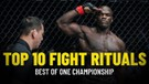 Top 10 Fight Rituals In ONE Championship
