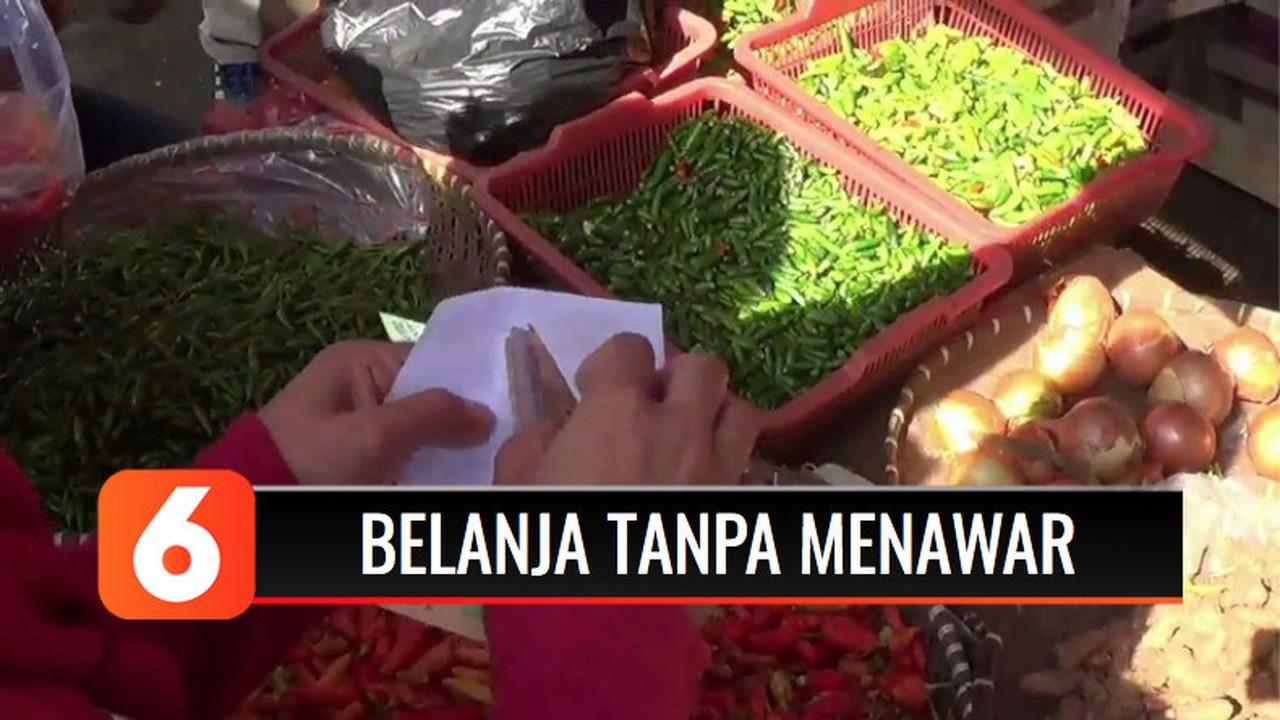 Streaming Ibu-ibu di Bogor Ikuti Gerakan Belanja di Pasar ...