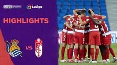 Match Highlight | Real Sociedad 2 vs 3 Granada | La Liga 2020