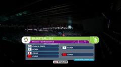 Full Highlight Bola Basket Putri Jepang Vs China 74 - 86 | Asian Games 2018