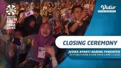 Penonton Ikut Nyanyikan Lagu Aku Yang Tersakiti di Closing Ceremony Asian Para Games 2018