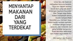Adab Makan dan Minum dalam Islam