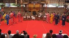 Kolaborasi Bali-Jeoang dalam acara Pesta Kesenian Bali 2019