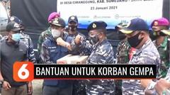 YPP dan TNI AL Salurkan Bantuan untuk Korban Longsor di Sumedang | Liputan 6