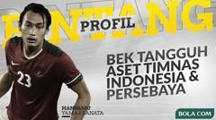 Profil Bintang Hansamu Yama, Bek Tangguh Aset Timnas Indonesia dan Persebaya