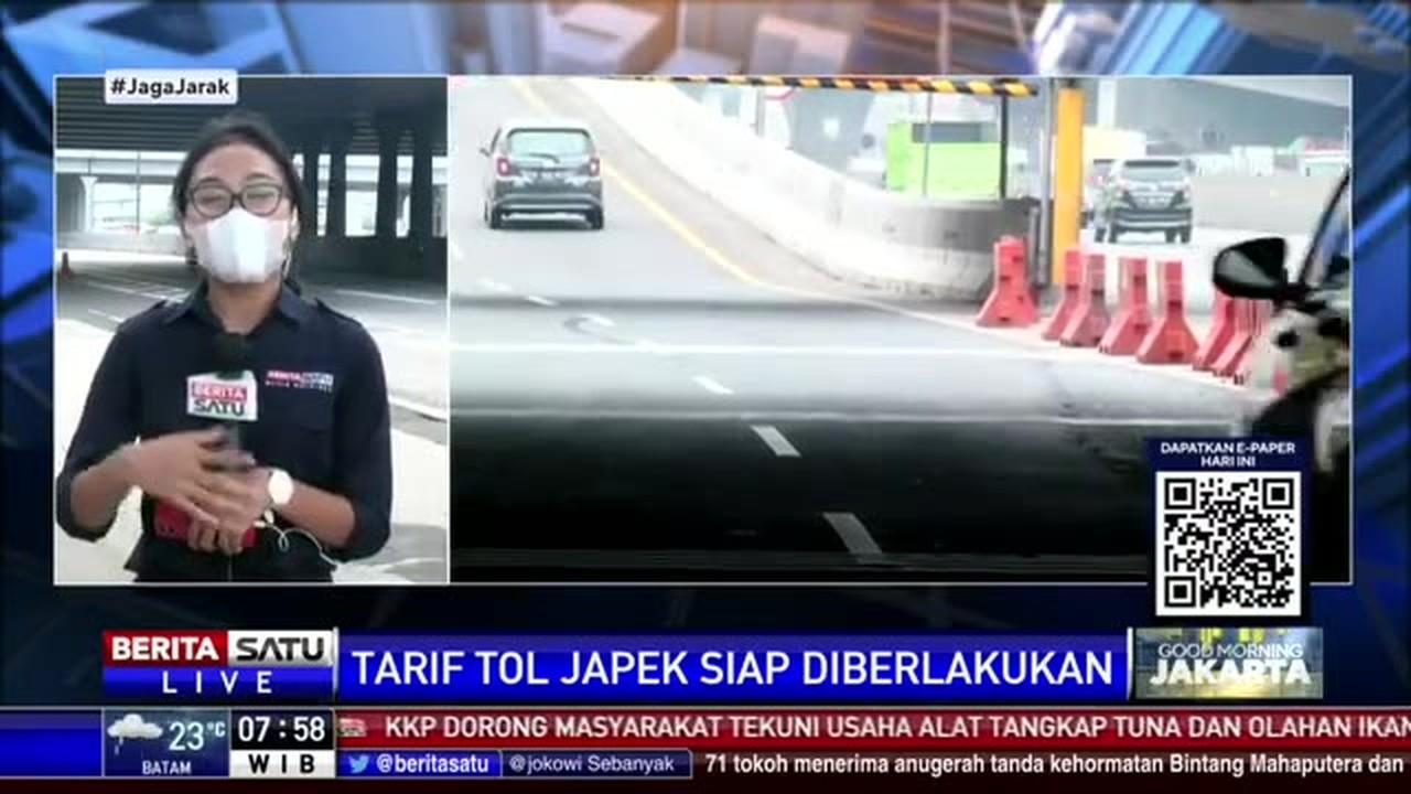 Streaming Tarif Tol Jakarta-Cikampek Akan Naik Dalam Waktu ...