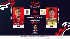 Bali United VS Barito Putera | Bali Virtual Island Cup 2020 (Episode 1)