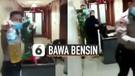 Viral Perempuan Bawa Bensin Saat Berkunjung ke Gedung Balai Kota