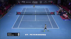 Match Highlight | Andrey Rublev 2 vs 1 Denis Shapovalov | ATP St. Petersbug Open 2020
