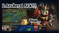 Left For Chat | Arthur Gameplay - Arena of Valor