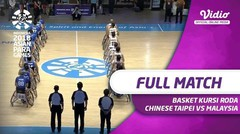Full Match Basket Kursi Roda Putra - Chinese Taipei vs Malaysia | Asian Para Games 2018