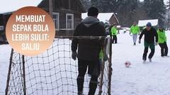 Liga Beku: Tim Sepakbola yang Memilih Salju