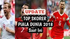 Update! Pemain Top Skorer Di Piala Dunia 2018 hingga Saat Ini