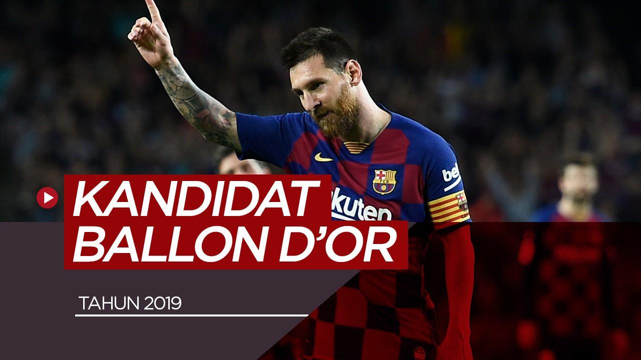 30 Pemain Kandidat Peraih Ballon D 2019