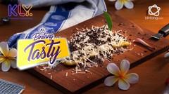 Bintang Tasty: Pisang Karamel Taburan Keju