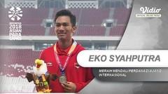Eko Syahputra Mendulang Medali Perdana di Asian Para Games 2018