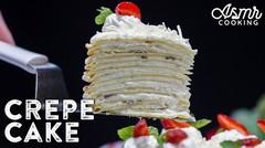 RESEP CREPES CAKE, ENAK TANPA OVEN | #ASMRCOOKING