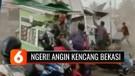 Berlangsung Kurang dari Semenit, Tapi Angin Puting Beliung di Bekasi Merusak Ratusan Rumah | Liputan 6