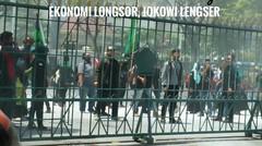 Gas Air Mata Warnai Aksi HMI Walisongo, Ekonomi Longsor Jokowi Lengser