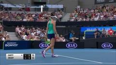 Match Highlight | Jennifer Brady 2 vs 0 Ashleigh Barty | WTA Brisbane International 2020