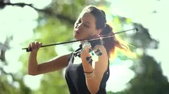 Shape of You (Ed Sheeran) - Electric Violin Cover by Caitlin De Ville
