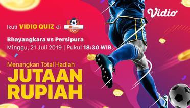 [21 Juli 18:30] Live Streaming - Bhayangkara FC vs Persipura Jayapura  - Shopee Liga 1