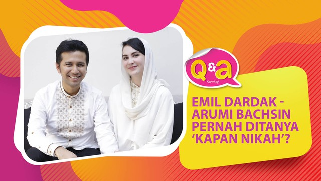 Arumi Bachsin - Emil Dardak Pernah Ditanya Kapan Nikah Saat Lebaran? [QnA Part 2]