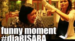 Behind The Scene #diaRISARA Funny Moments 1