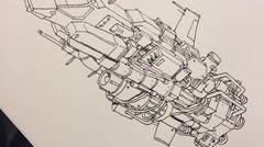 Doodling: space craft