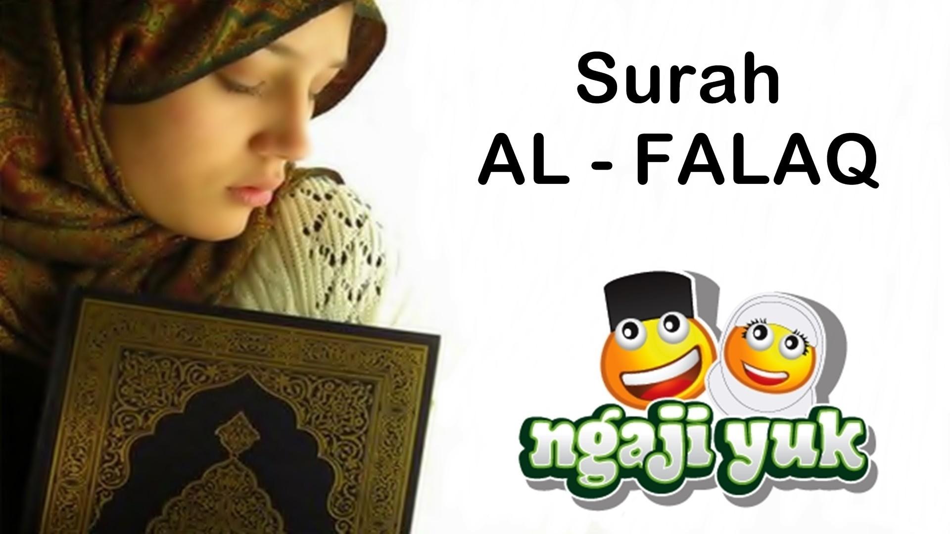 Surah Al Falaq Terjemahan Indonesia